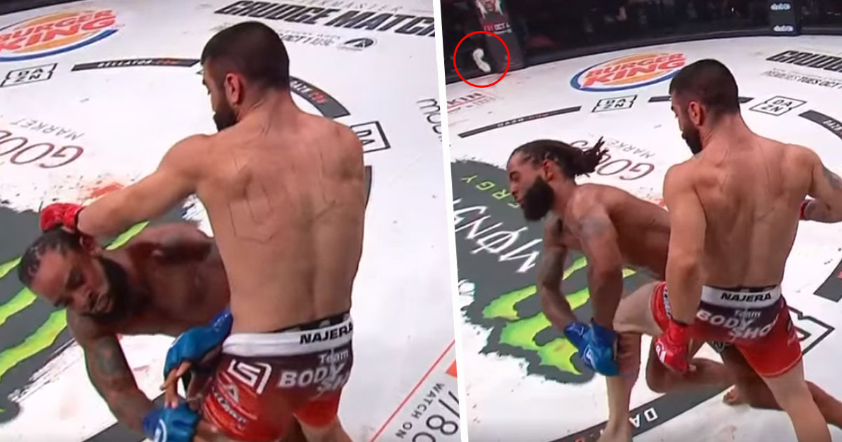 Bellator Knee To The Face, Jason Edwards Adrian Najera