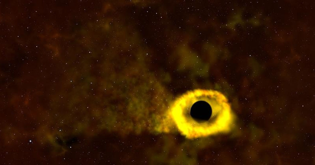 Flipboard Unbelievable Moment Black Hole Shreds A Star