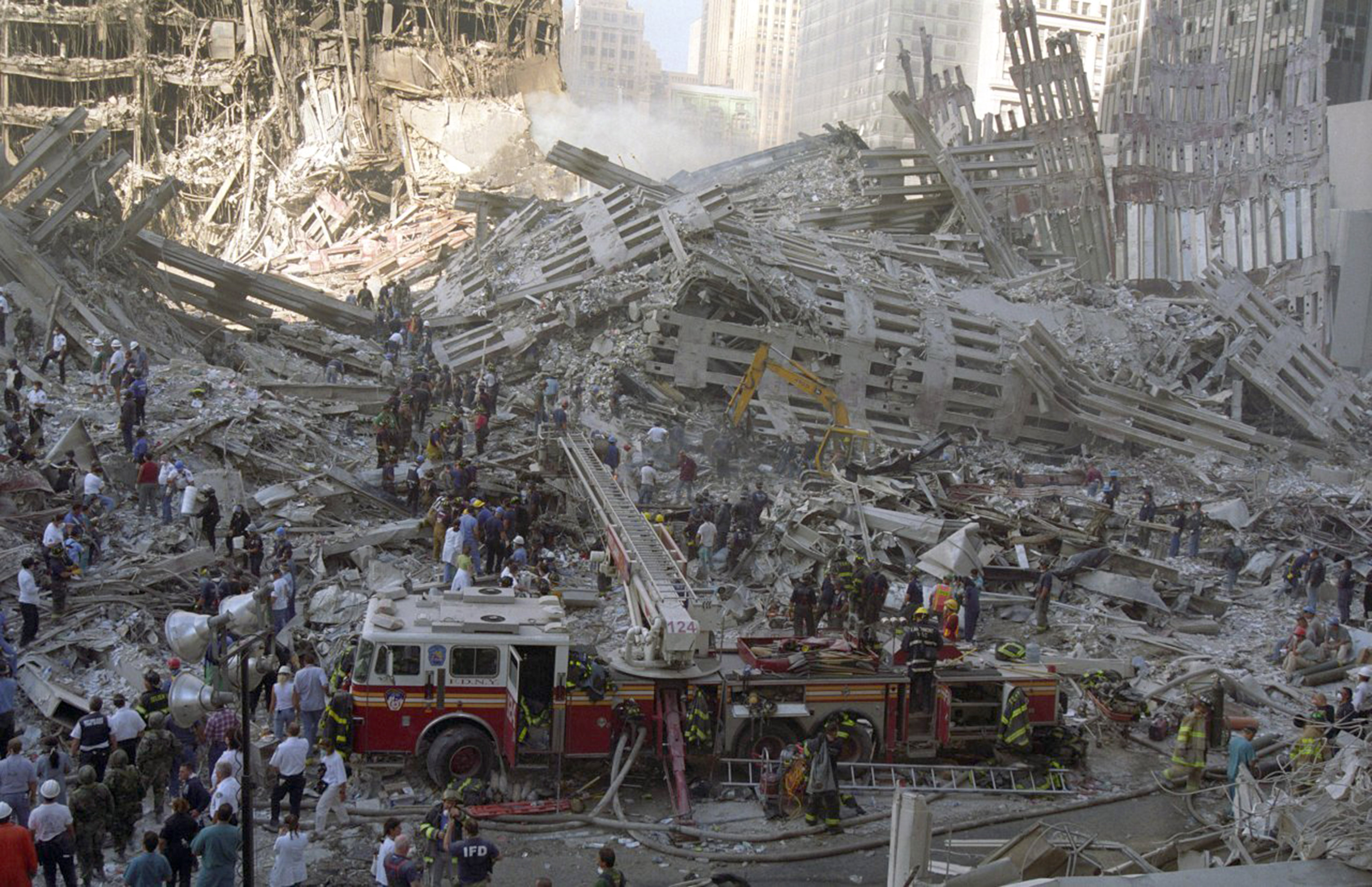 First On-Scene Doctor Releases Unseen Photos He Took At 9/11 Site