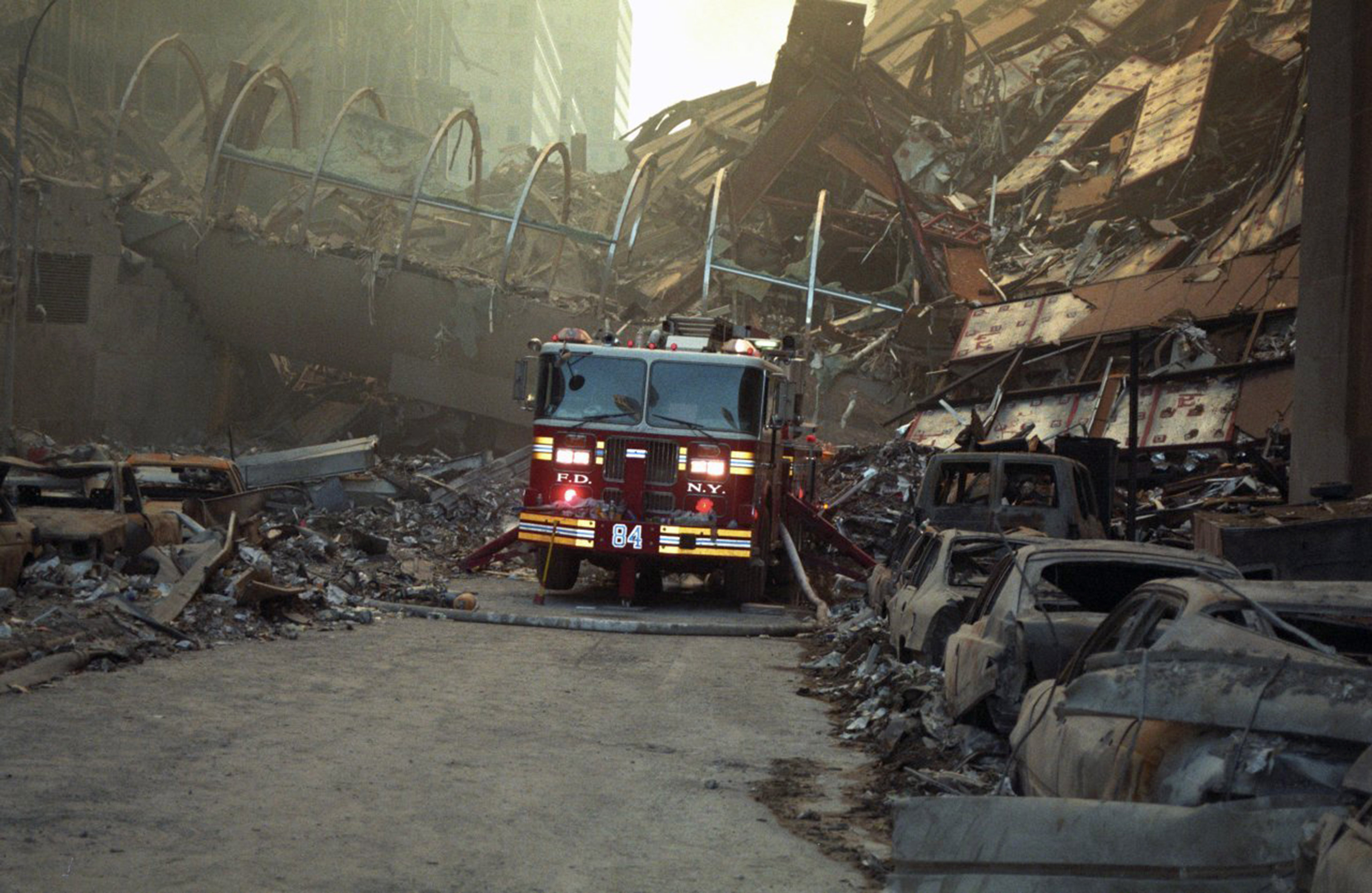 On-Scene Doctor Releases Unseen Photos He Took At 9/11 Site