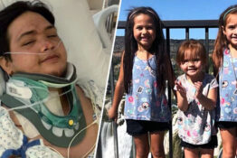 Dad Wakes To Find Girls Died In Car Crash Thumb