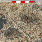 Huge Ancient Mosaic Of Jesus Feeding The 5,000 Found In Galilee