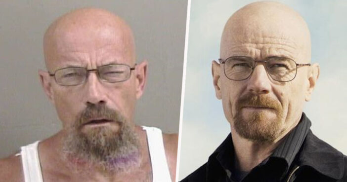 Police Hunt Guy For Meth Possession And He Looks Exactly Like Walter White