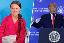 Greta Thunberg Donald Trump Thumb 2