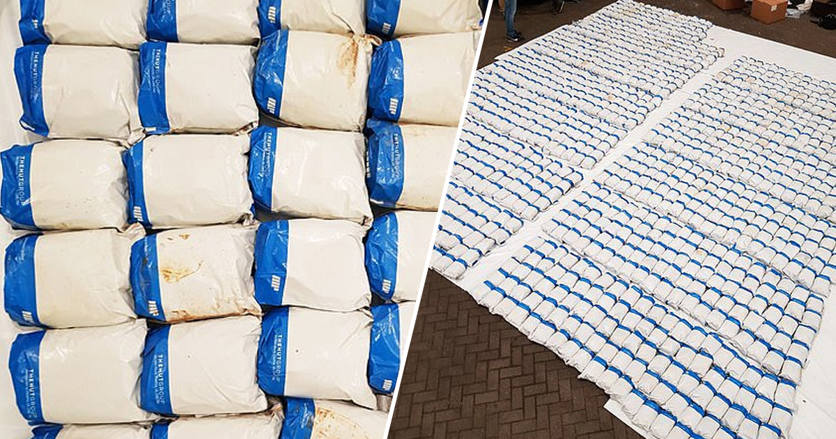 Police Discover 1.3 Tons Of Heroin Worth £120 Million In Record Haul