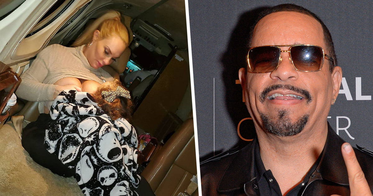 Ice-T Forced To Defend Wife After She Breastfeeds Their 3-Year-Old Daughter