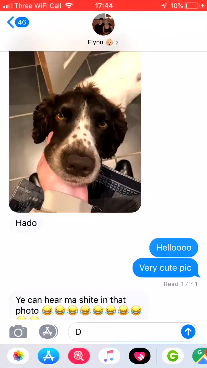 Guy Sends Cute Video Of Dog To Girlfriend, Doesn't Realise Background Noise Is Him Sh*tting