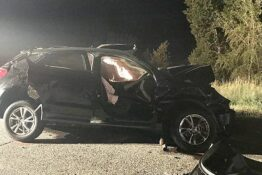 Kylie Rae Harris Crashed Car