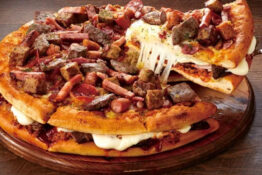 Meat Mountain Pizza