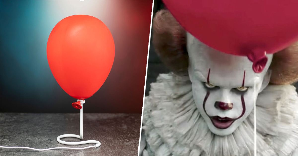 Pennywise Balloon Lamp Is Here Just In Time For Halloween