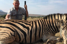 Peter Livesey Trophy Hunter Zebra Thumb