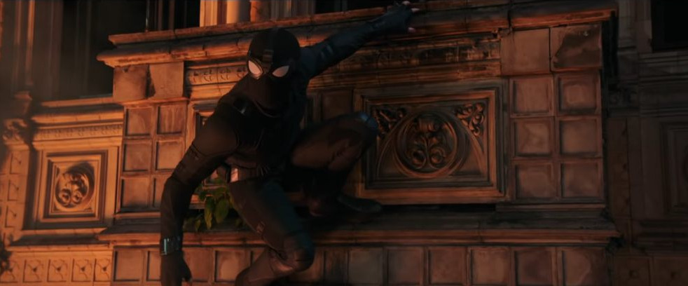 Spider-Man Far From Home Stealth Suit Night Monkey