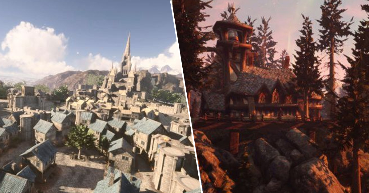 World Of Warcraft's Stormwind Remade In Unreal Engine 4 Is Breathtaking