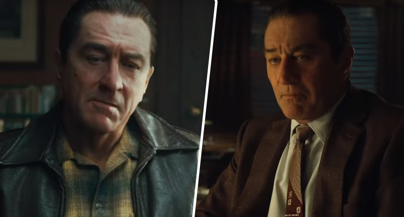 The Irishman De-Aged Robert De Niro