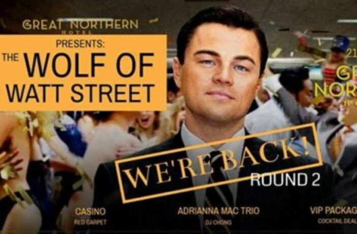 The Wolf Of Wall Street, dwarfism, pub