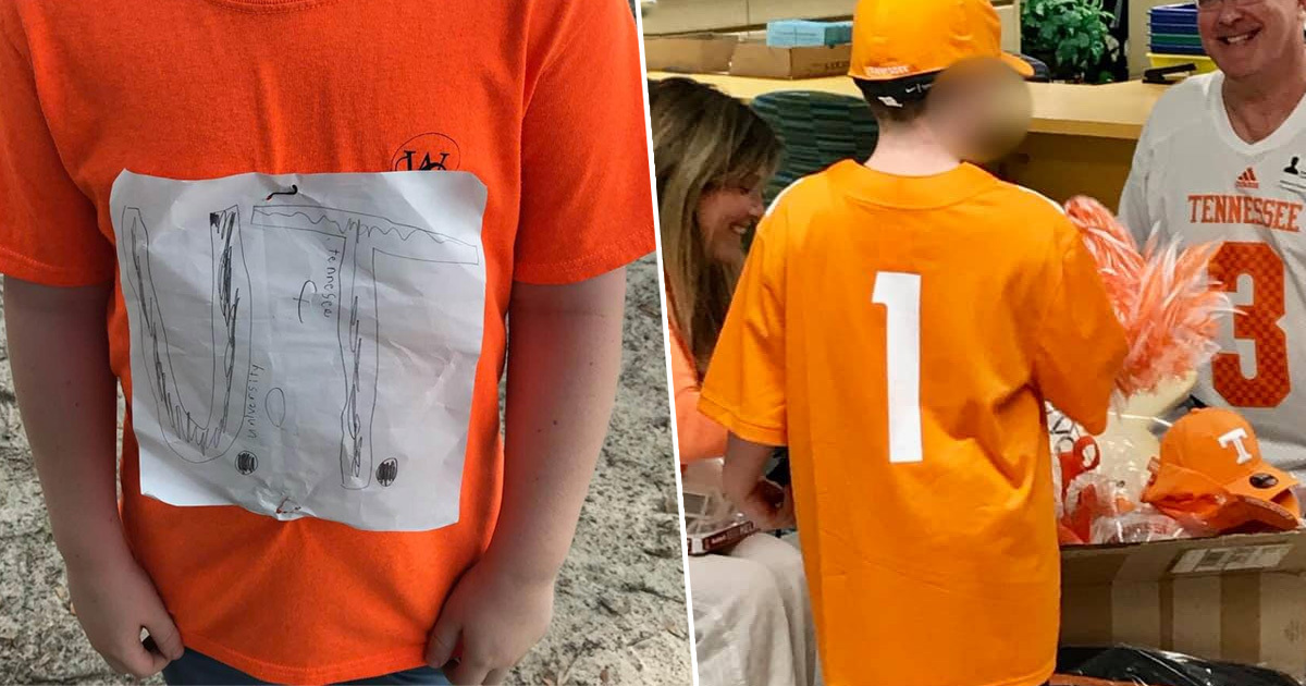 Boy Bullied For Homemade T-Shirt Offered Full University Scholarship