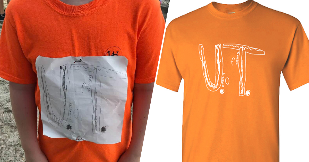 Boy Bullied For Homemade Shirt Of Favourite Team Gets Design Made Into Official Merch