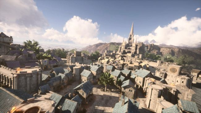 World Of Warcraft's Stormwind Remade In Unreal Engine 4 Is