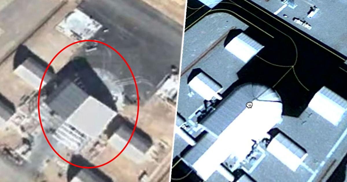 Alien Hunter Finds UFO At Area 51 On Google Earth