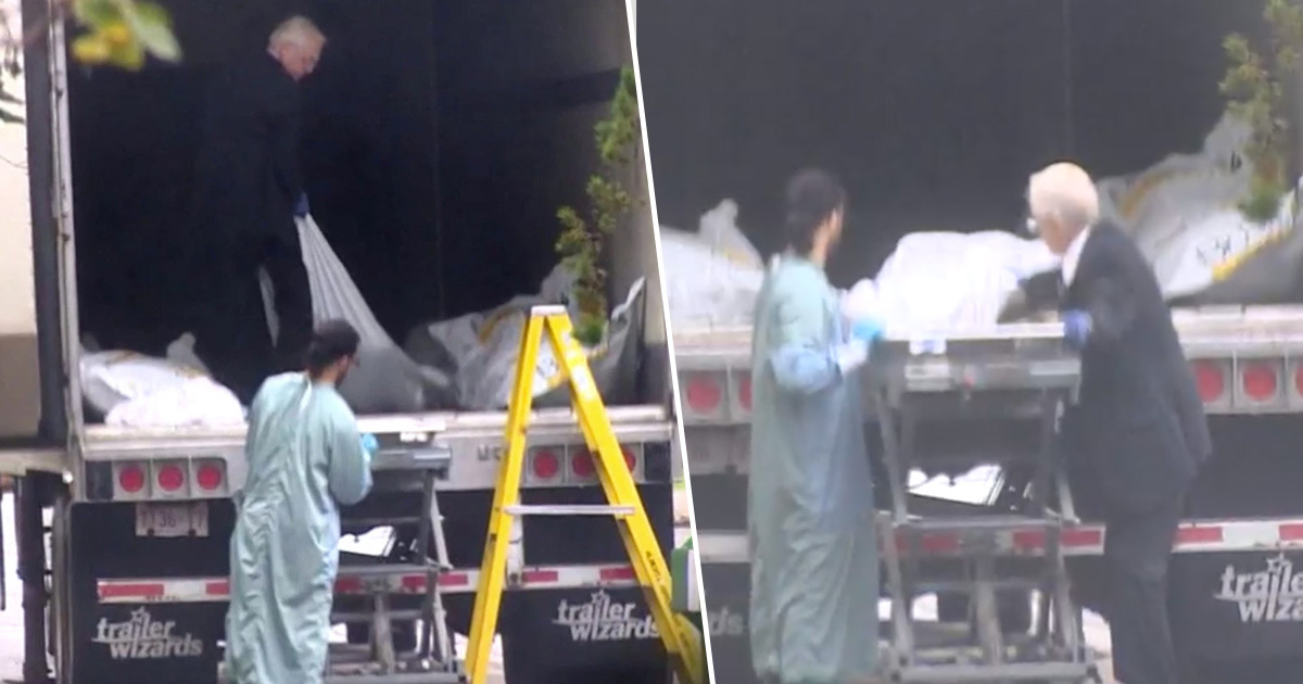 Canadian Coroner Caught Stashing Bodies In Refrigerated Truck
