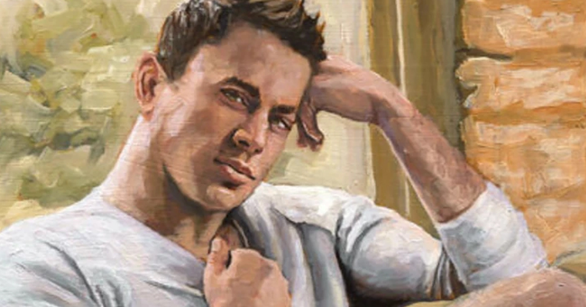 Original Oil Painting Of Channing Tatum's Ballsack Selling For $460