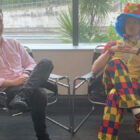 Man Being 'Fired' Brings Emotional Support Clown To Meeting