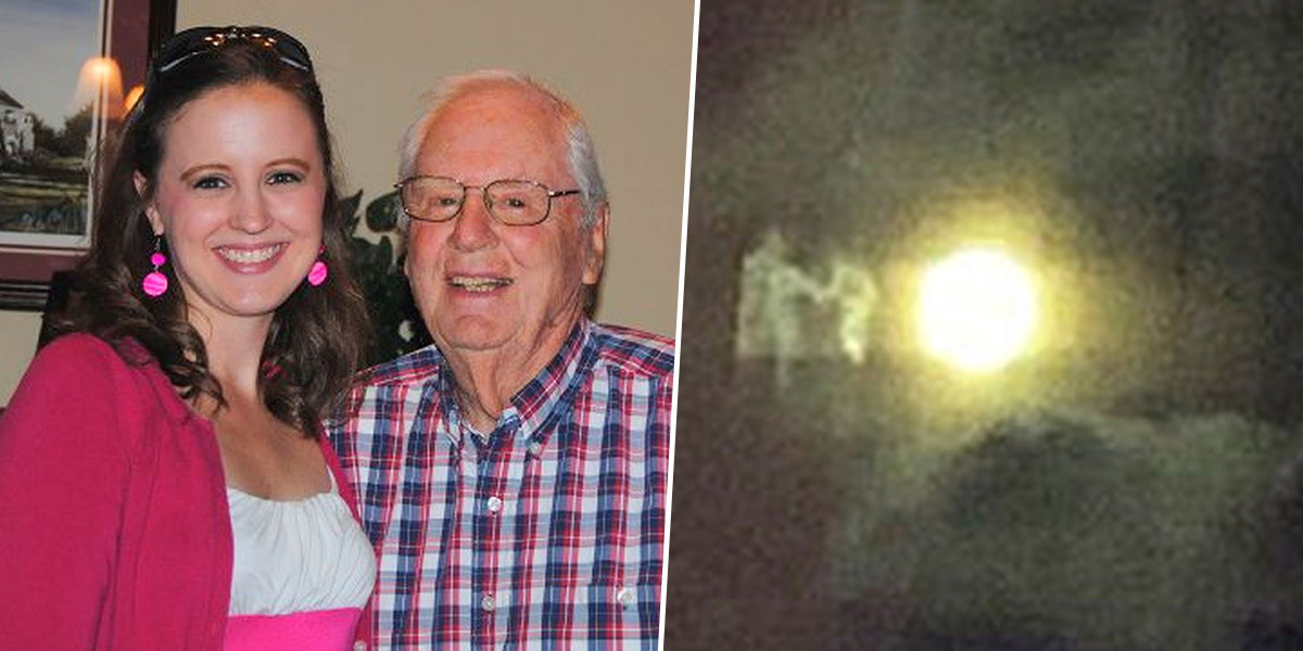 Teacher Photographs Grandparents 'Being Welcomed Into Heaven'