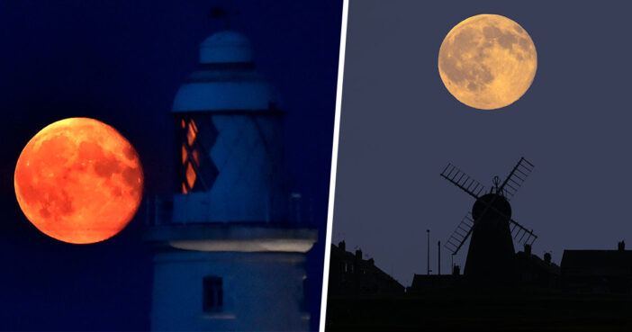 Rare 'Glowing' Harvest Moon To Appear In Sky Tonight