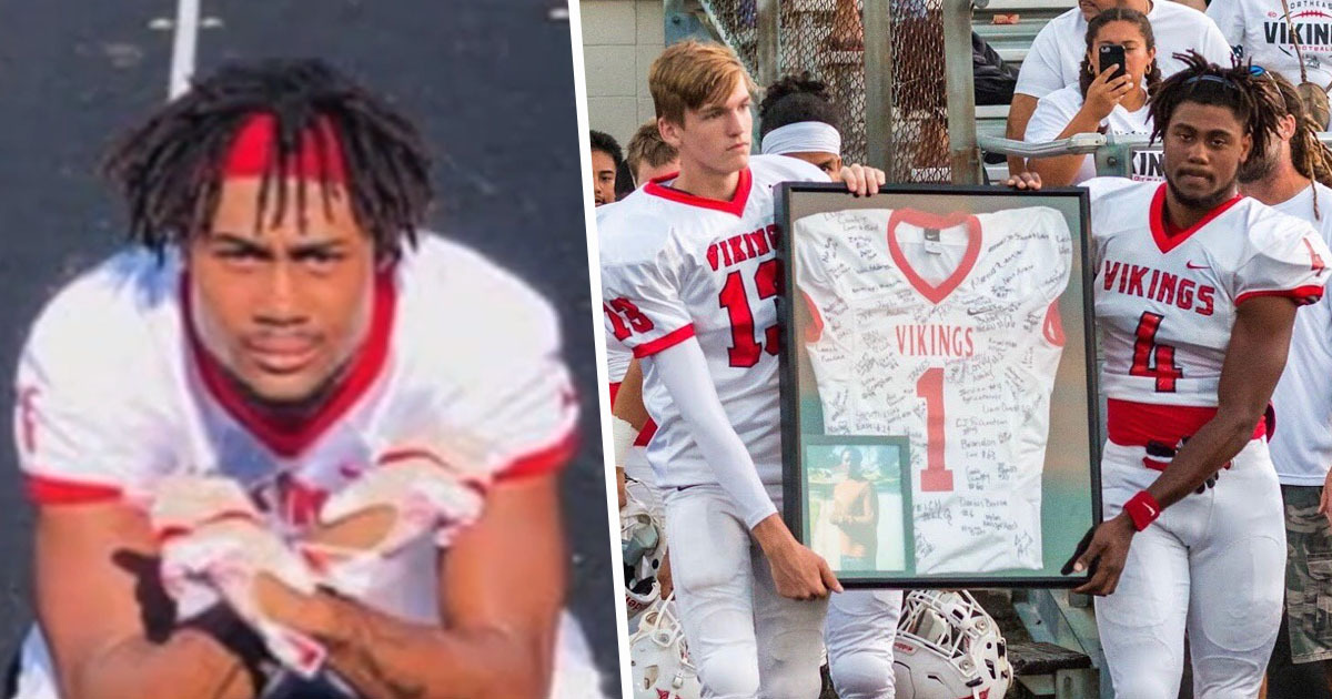 High School Football Player Brain Dead After Never Getting Up From Tackle