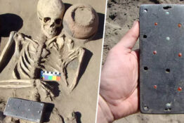Archaeologists Find 2,100-Year-Old 'iPhone' In Grave Of Woman Buried In Russian 'Atlantis'
