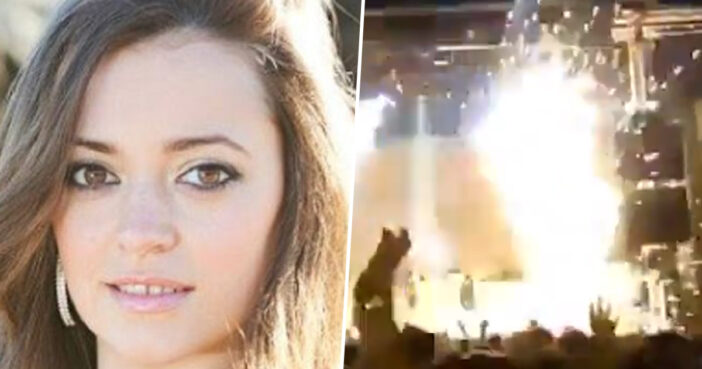 Singer Killed On Stage By Exploding Pyrotechnic