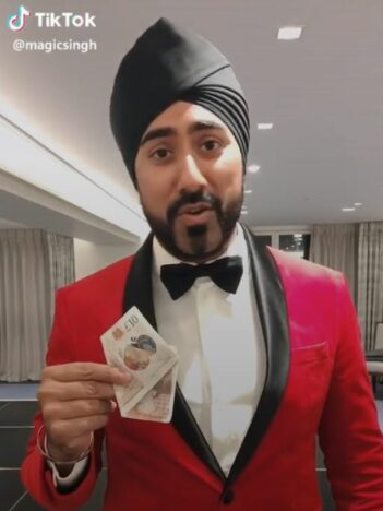 Magic Singh TikTok