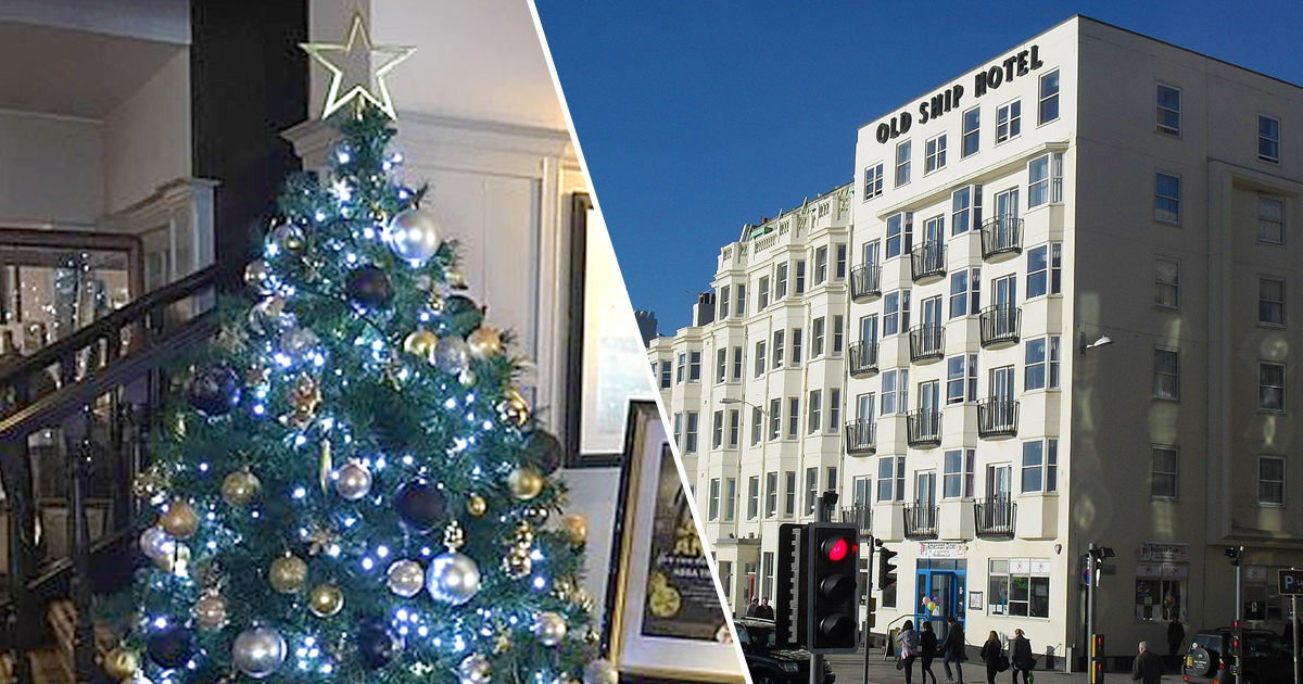 Last Day To Ship For Christmas 2019.Festive Hotel Staff Put Christmas Tree Up 107 Days Early