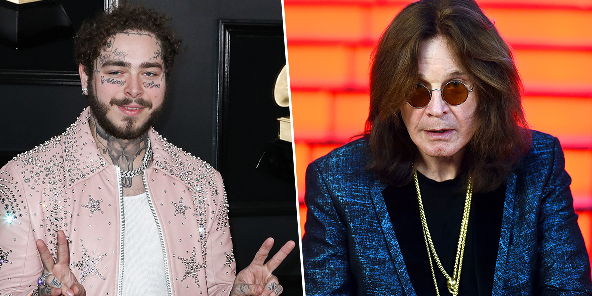 Ozzy Osbourne didn't know who Post Malone was before their collaboration