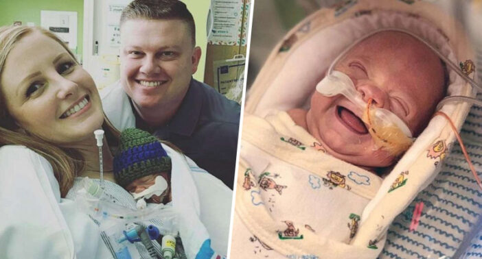 1lb Baby Given 50 Per Cent Chance Of Survival Returns Home After 100-Day Fight In Hospital