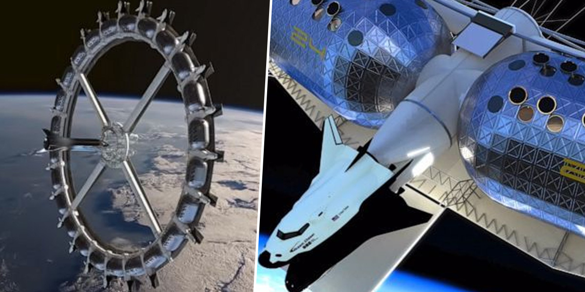 First Commercial Space Hotel To Have Low-Gravity Basketball And Rock Climbing