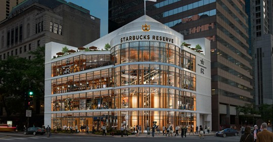 World's Largest Starbucks Is Opening In Chicago And It's Four Stories High