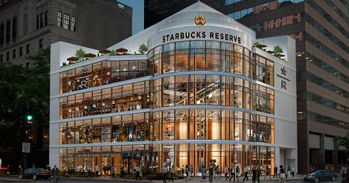 World's Largest Starbucks Is Opening In Chicago And It's Four Storeys High
