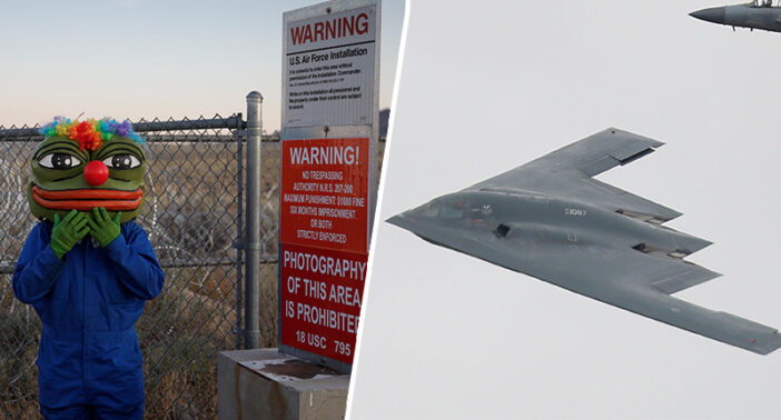 US Air Force Apologises After Threatening Area 51 Party With A Stealth Bomber