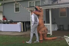 t rex maid of honour