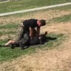 Marine 'Smashes Two Kids' Heads Together' To Stop Schoolyard Fight