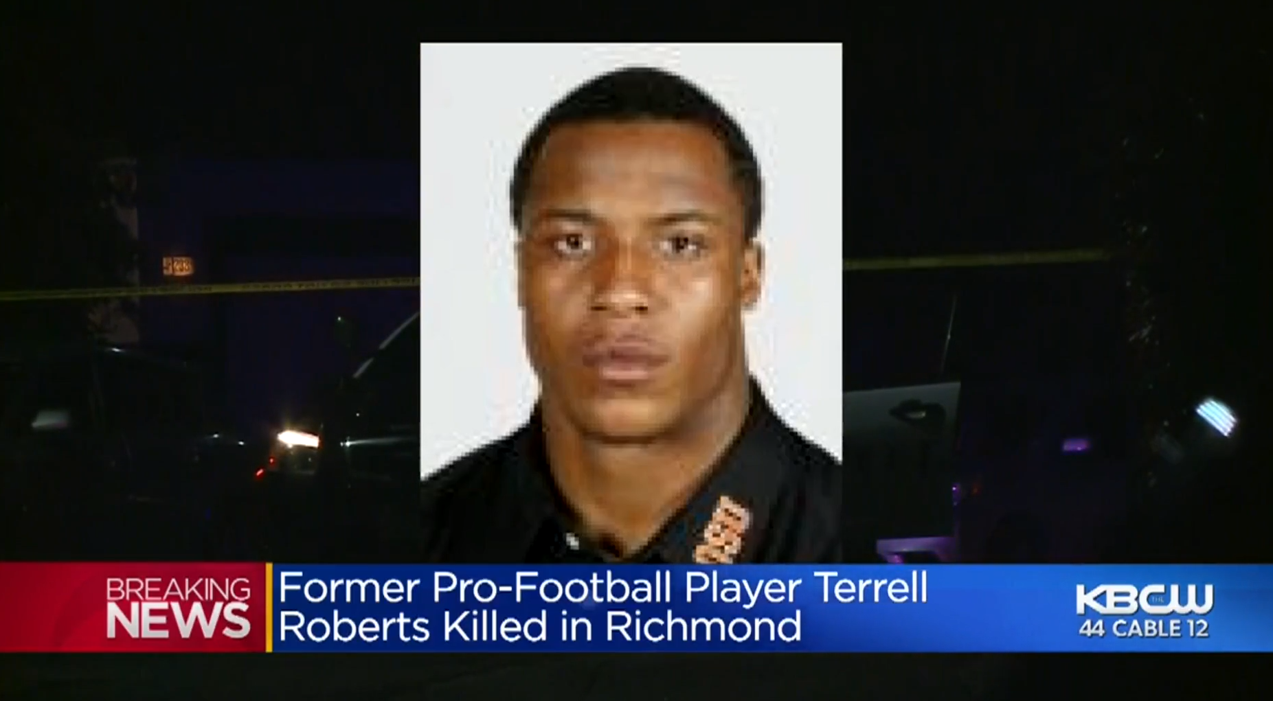 Former NFL Star Terrell Roberts Shot Dead In Grandmother's Backyard