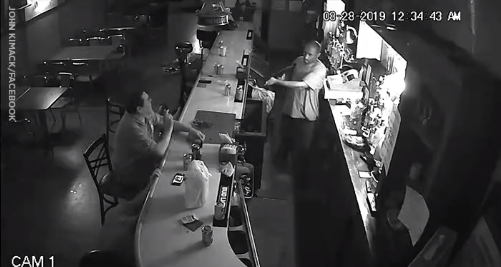 Man Who Finished Cigarette During Robbery Says He'd Do It Again