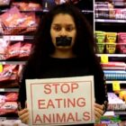 Shoppers Furious At Vegan Protesters Who Hijack Supermarket To Stop People Buying Meat
