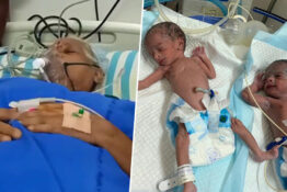 Woman Becomes World's Oldest Mum After Giving Birth To Twins Aged 74