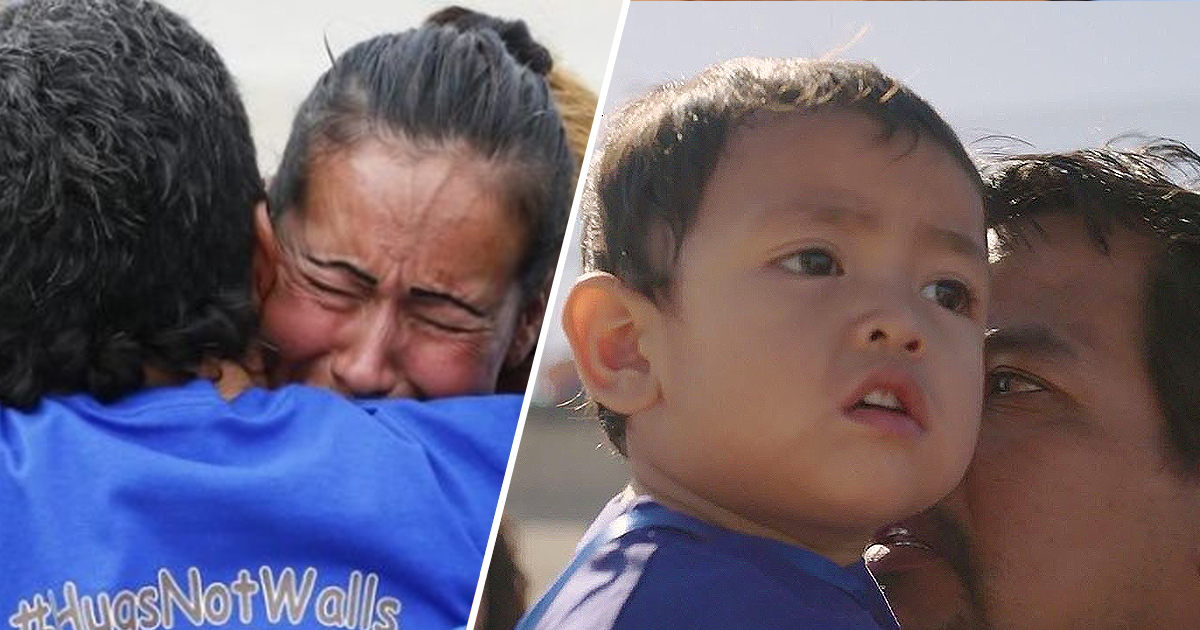 Families Separated By US Border Filmed In Powerful 3 Minute Hug Documentary