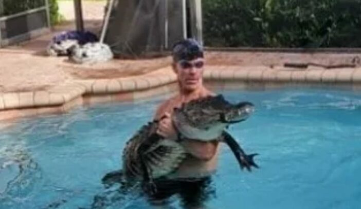 Florida Man Alligator