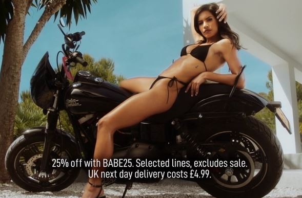 Banned missguided advert