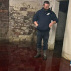 Family's Basement Flooded With Animal Blood And It Looks Like The End Of The World