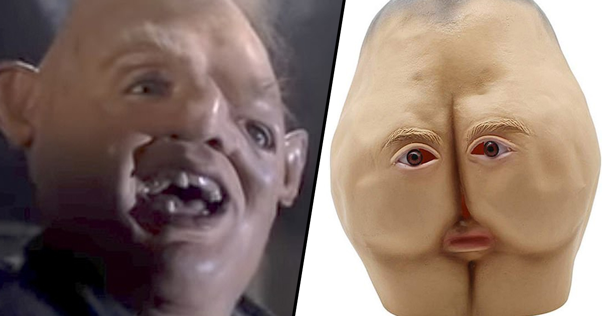 People Are Horrified By Halloween Mask That's Supposed To Be Sloth From The Goonies
